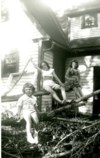 Sherry (right) with her sisters Barbara and Janice