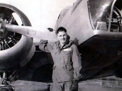 20 years old in U.S. Air Force at his first assignment following basic training - 1951