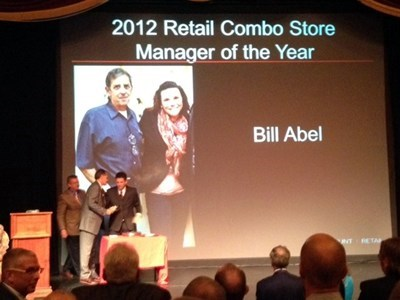 What an accomplishment...Mgr of the Year. It was never about cancer. You make us so proud, Bill.