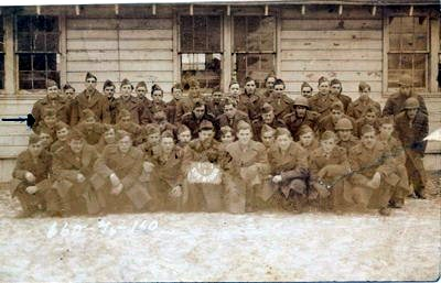1946 Fort Sheridan: Chicago, Illinois, postcard to Mama