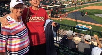 At Braves Spring Training Game - Orlando, FL - March 2016