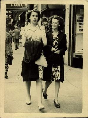 Shirley & Audrey - July 1944 - Best Friends